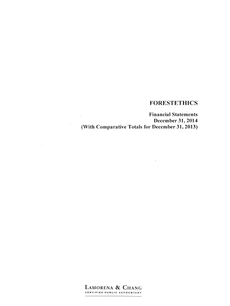2014 Audit Report Cover
