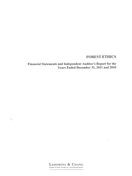 2011 Audited Financials