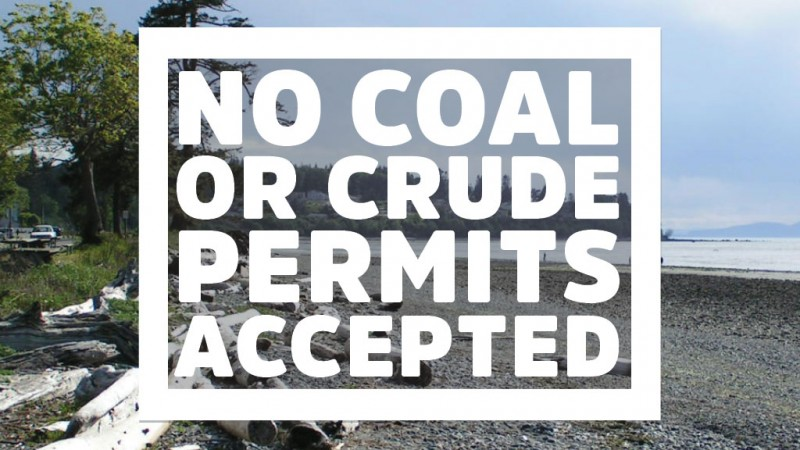 Keep Washington state free of fossil fuel projects