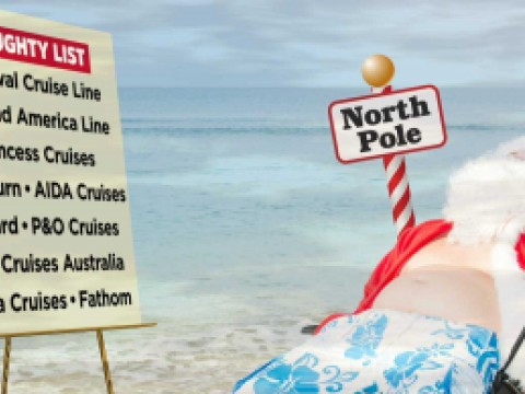 Get Carnival cruises of Santa's naughty list