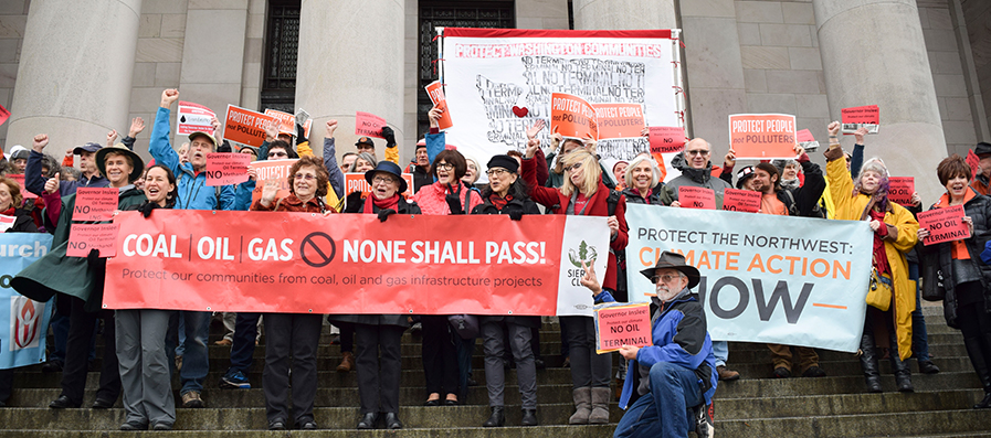 Group calls on WA gov Inslee to say no to new oil terminals