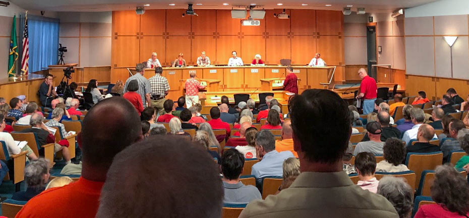 Cherry Point county council meeting