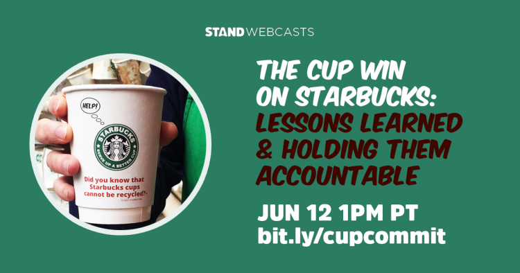 The Cup Win on Starbucks: Lessons Learned and Holding the Company Accountable Webcast