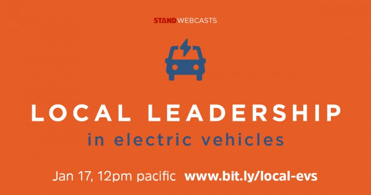 Local Leadership in Electric Vehicles Webcast