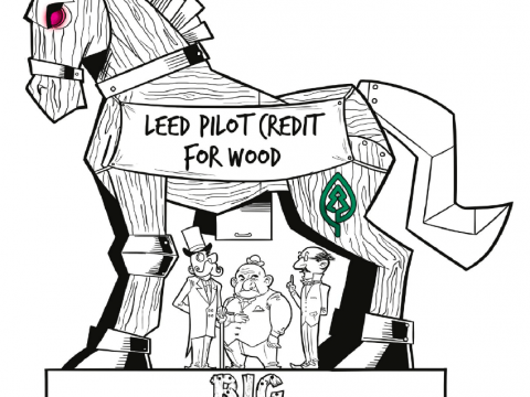 Trojan Horse: Big Timber tries to sneak into the LEED green building rating system