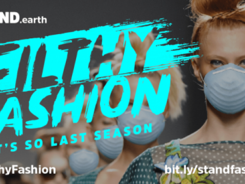 Fashion industry's reliance on coal power isa big contributor to climate change
