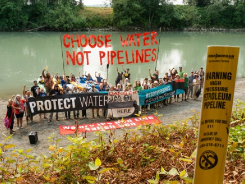 Nooksack River Puget Sound Pipeline Crossing Event