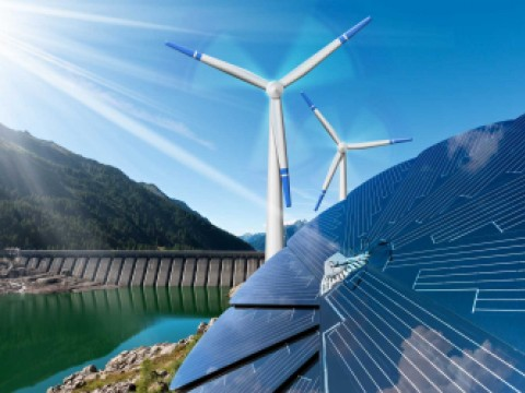 renewable energy like solar, wind, and hydro power can replace fossil fuels