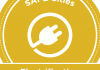 SAFE Cities electrification badge in gold
