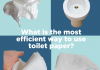Take the poll: What is the most efficient use of toilet paper?