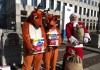 Santa delivers coal to Procter & Gamble Charmin HQ